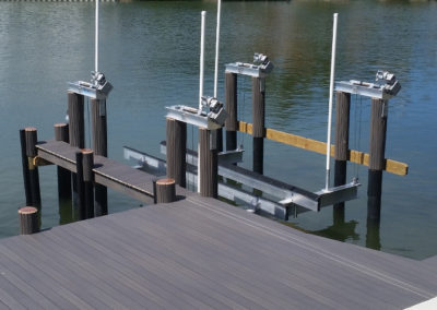 Four Motor Boat Lift