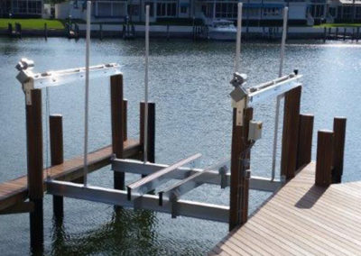 Two Motor Boat Lift